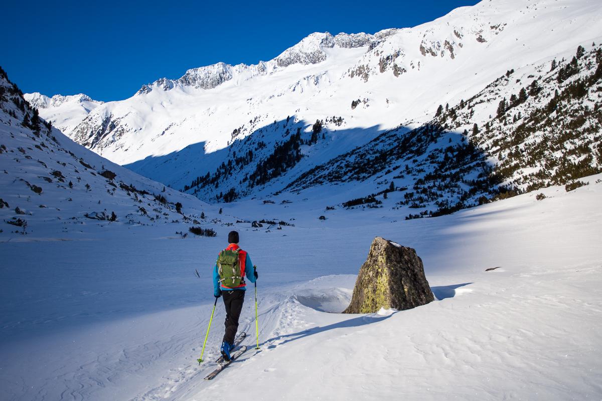 Aufstieg zur Rainbachspitze durchs Windbachtal.