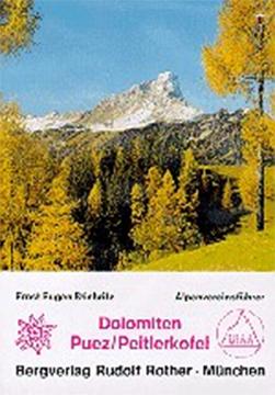 Alpenvereinsführer Puezgruppe, Peitlerkofel - Dolomiten