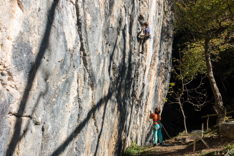 Klettergebiet Travesio