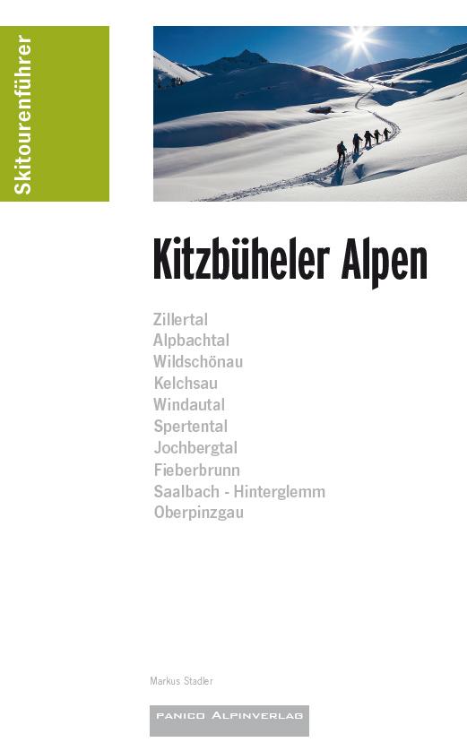 Skiführer Kitzbüheler Alpen - Panico Skitourenführer