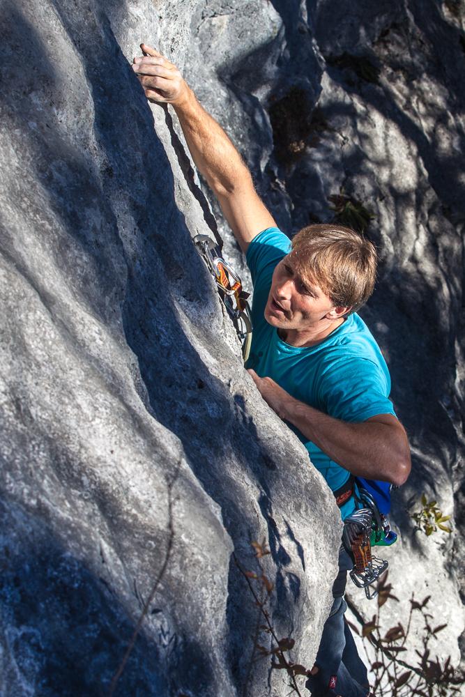 Klettern in Achleiten am 15.11.2012