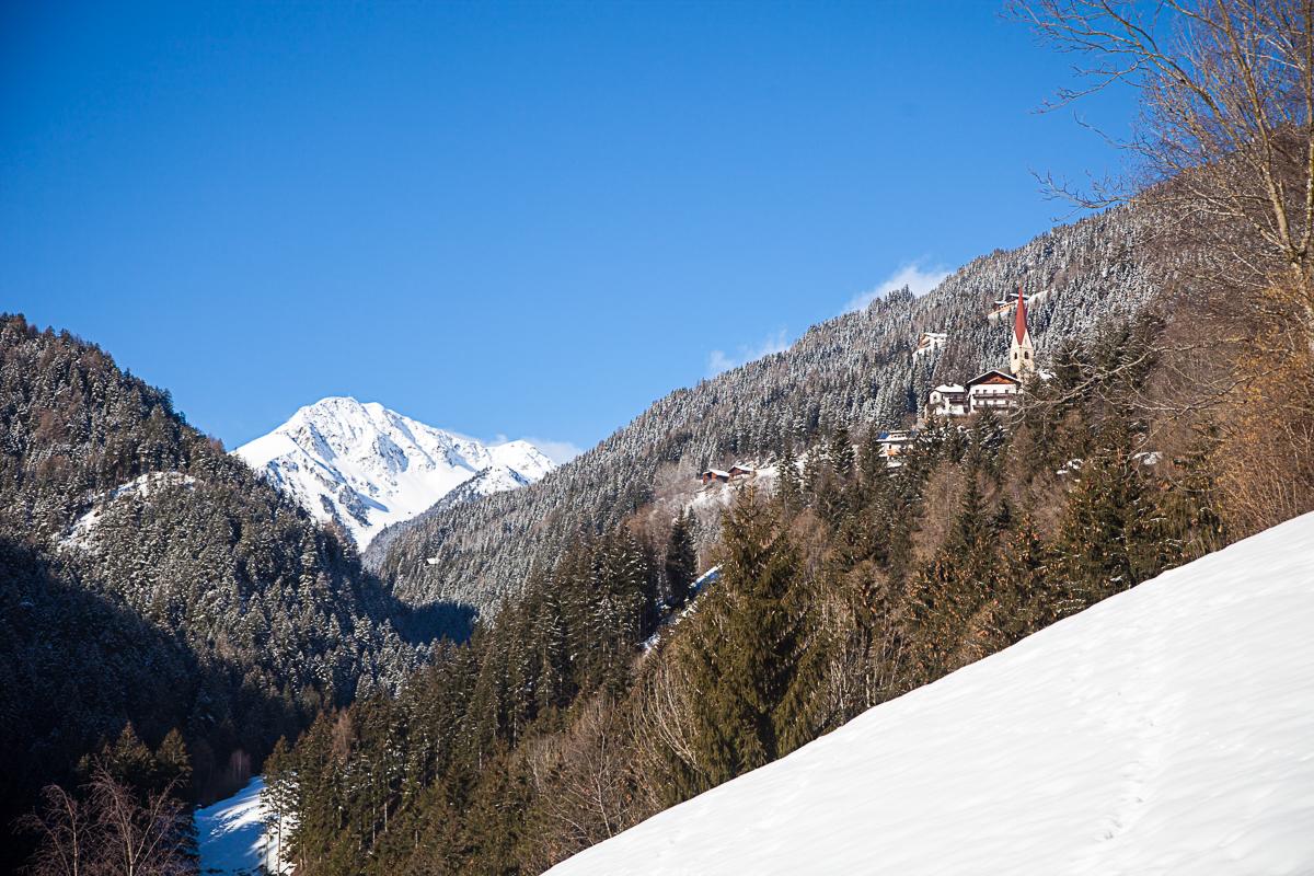 Das einsame Tälchen Schalders - im Hintergrund das Schrotthorn.