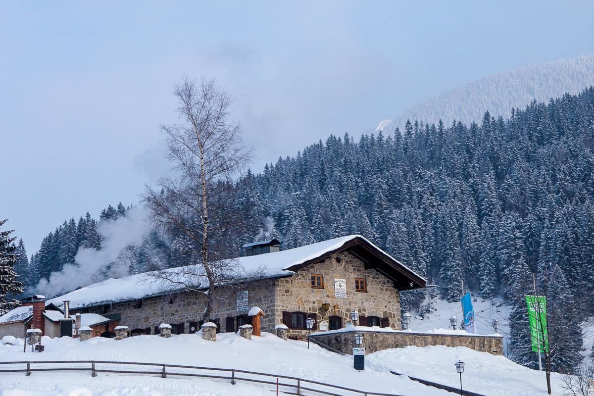 Unser Basislager - die Albert-Link-Hütte