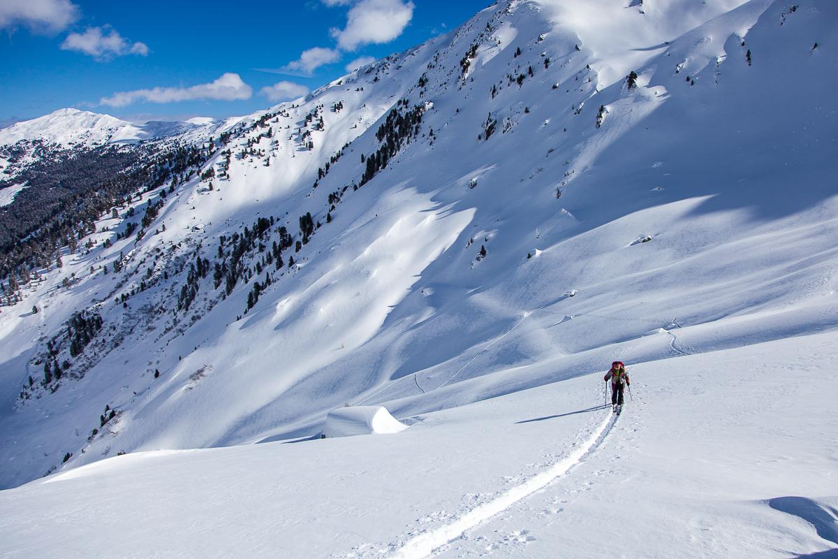 Im Kar oberhalb der Grafennsalm.