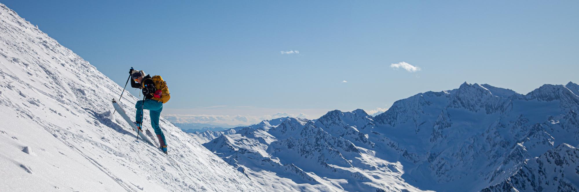 Skitouren in Südtirol statt in der Steiermark