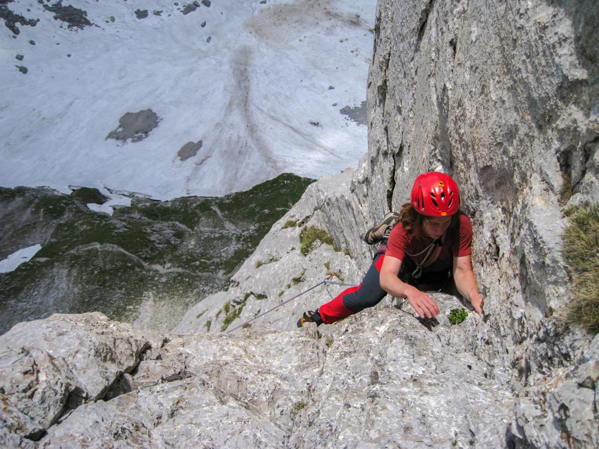 Kletterrouten Wilder Kaiser: Ellmauer Halt Dreierweg
